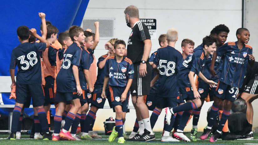 FC Cincinnati Academy Roundup: Week One
