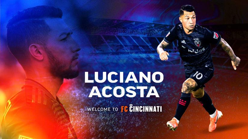 Luciano Acosta Announcement