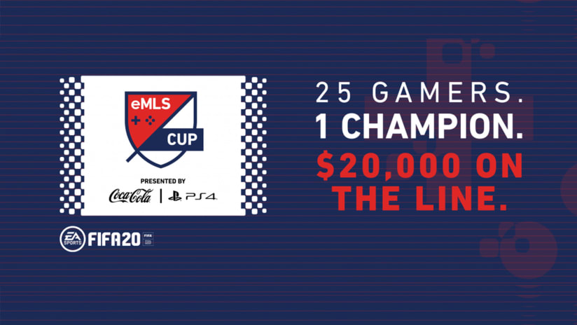 eMLS to Crown 2020 Champion with eMLS Cup Presented by Coca-Cola and PlayStation® on June 28