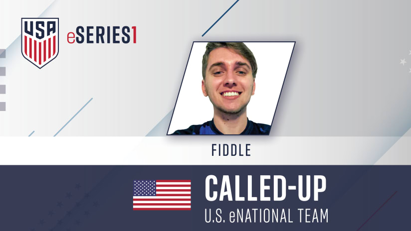 Fiddle called up to U.S. eNational Team for international tourney