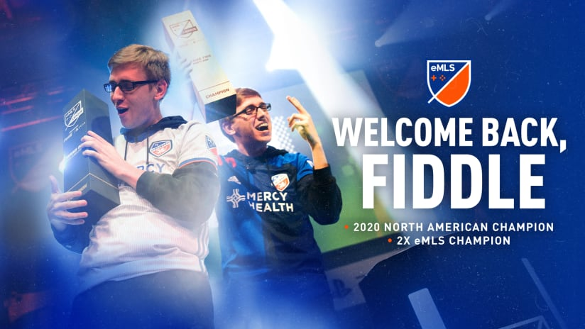Fiddle re-signs for 2021 eMLS season