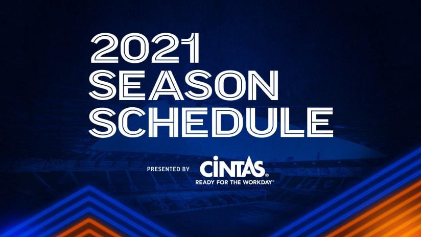 2021 Schedule Announcement 16x9