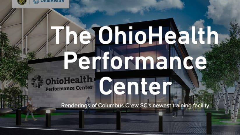 RENDERINGS   Look through The OhioHealth Performance Center - The OhioHealth Performance Center