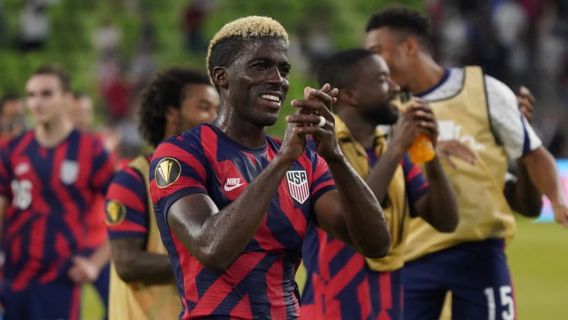 Columbus Crew forward Gyasi Zardes to join United States Men's National Team for FIFA World Cup Qualifiers