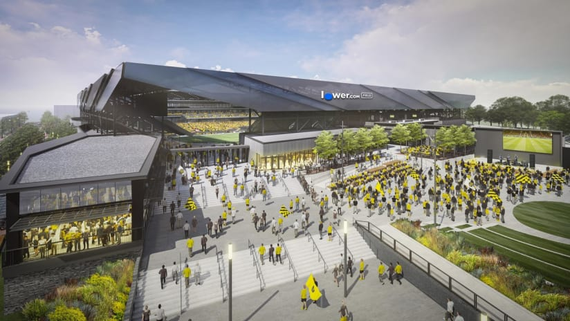 A look at Lower.com Field, the new home of Columbus Crew