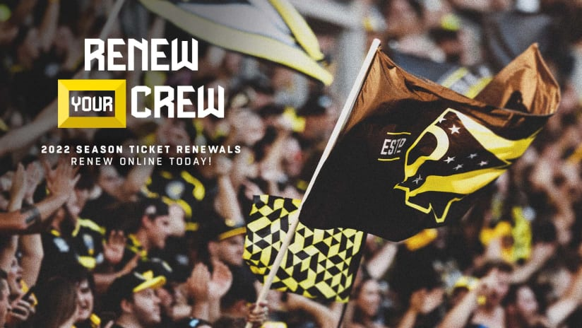 RENEW YOUR CREW | Earn a chance at winning exclusive prizes by renewing your Season Ticket Membership today