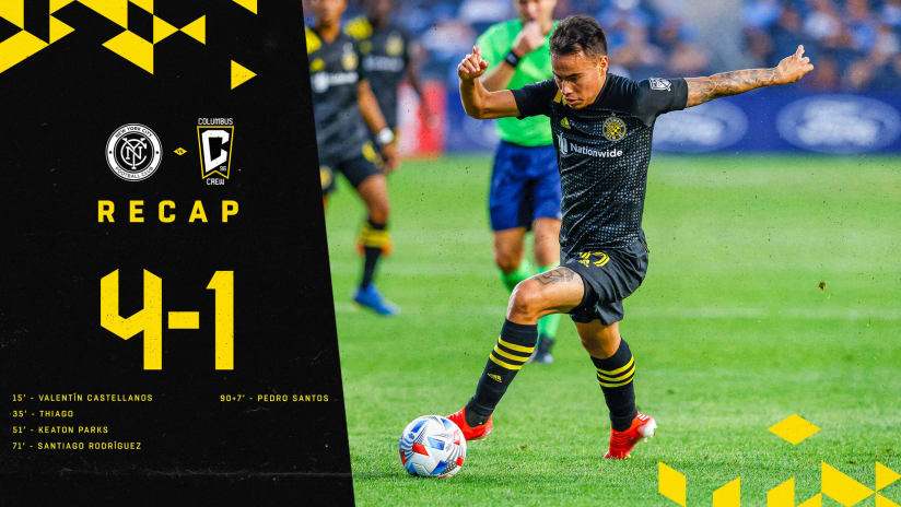 RECAP | Six-match unbeaten snapped at New York City FC