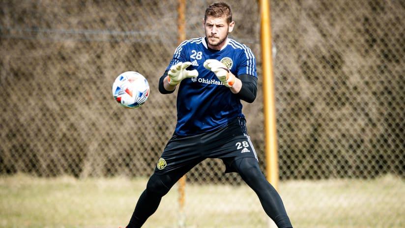 Columbus Crew waives goalkeeper Matt Lampson