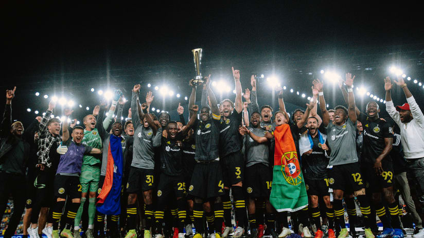 Crew win Campeones Cup, claim first international trophy