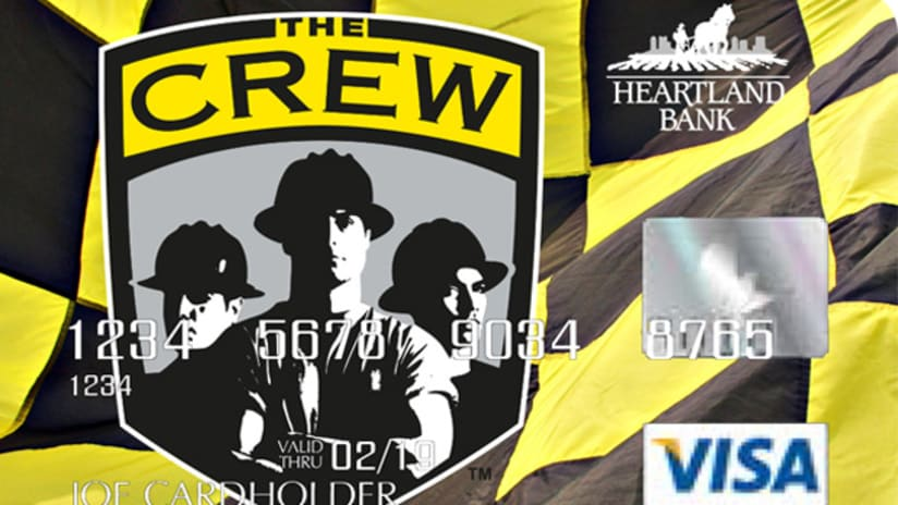Crew checkered card
