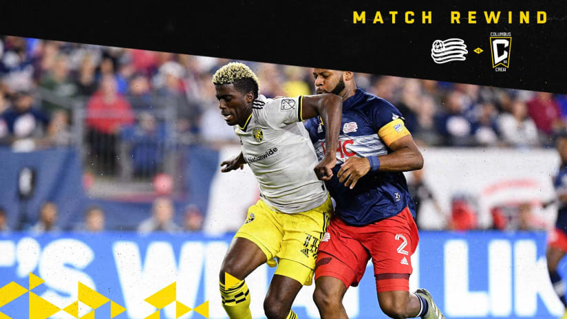 MATCH REWIND | Recapping Saturday's road draw at League-leading New England Revolution