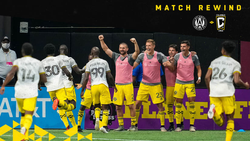 MATCH REWIND | Black & Gold return from Atlanta with all 3 points