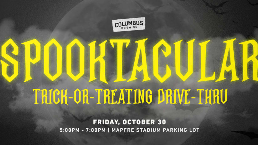 GIVE FORWARD | Spooktacular Halloween Drive-Thru with Crew SC