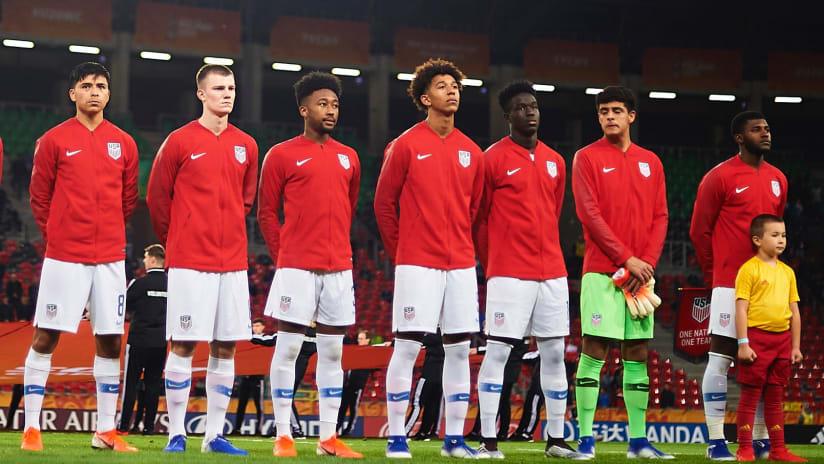 Aboubacar Keita - Line Up - U-20 World Cup - 2019