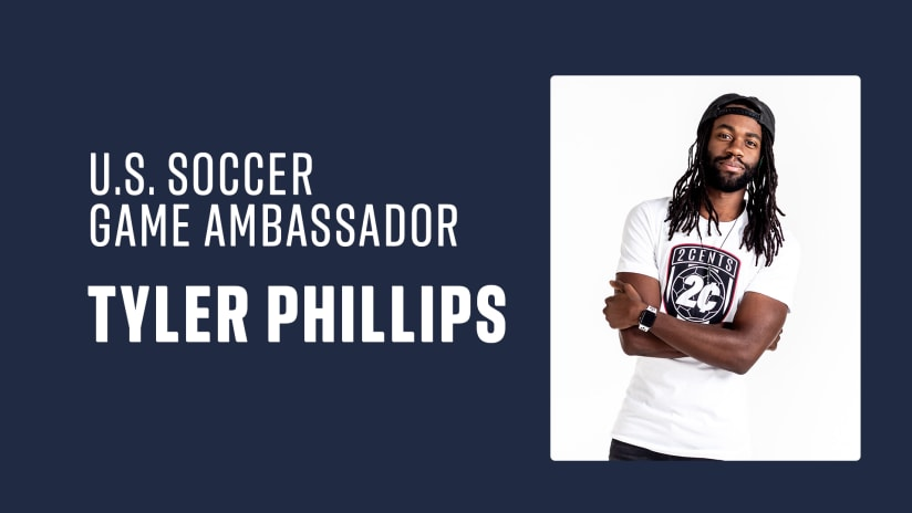 Columbus Crew Supporter Relations Manager, Tyler Phillips, honored as U.S. Soccer Game Ambassador