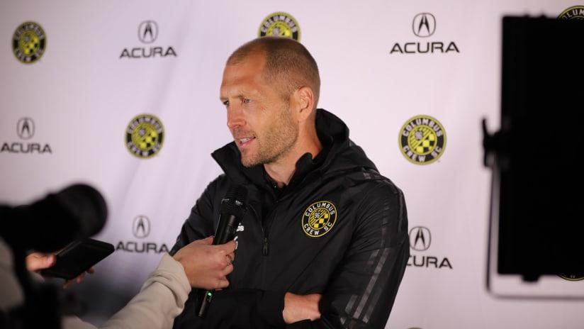 Gregg Berhalter post-match interview CCC