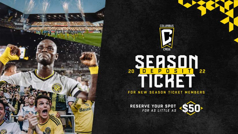 2022 Columbus Crew Season Ticket Membership Priority List now open