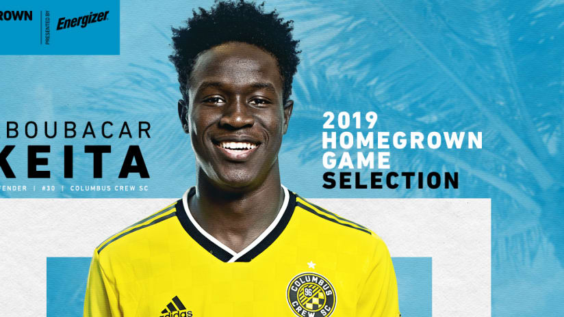 Aboubacar Keita - Homegrown Game Graphic - Web - 2019