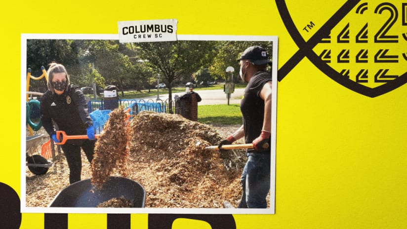 GIVE FORWARD | Clean-up at Schiller Park with Columbia Gas