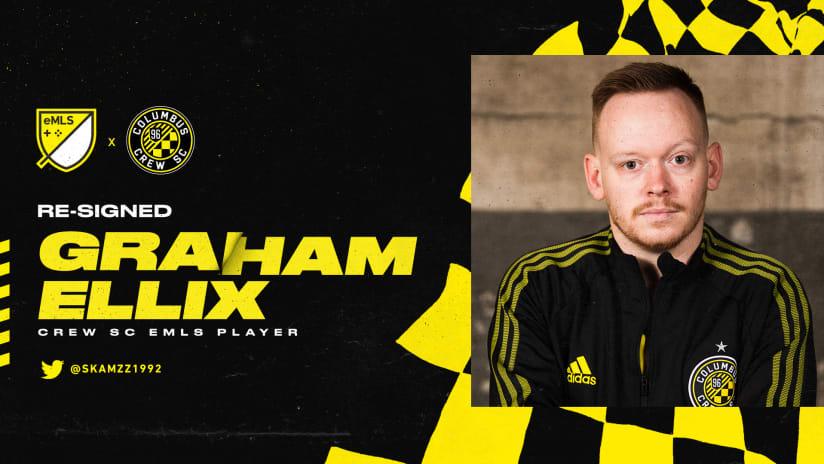 eMLS | Columbus Crew announces re-signing of Graham Ellix