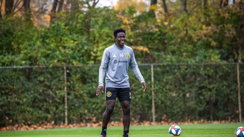 Bouba Keita - 10.30.19 - Training