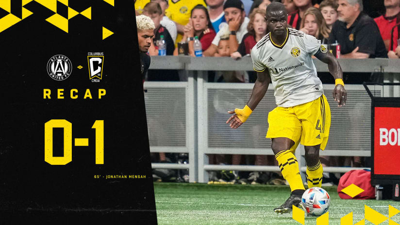 RECAP | Mensah, Room shine as Crew defeats Atlanta United, 1-0, on the road