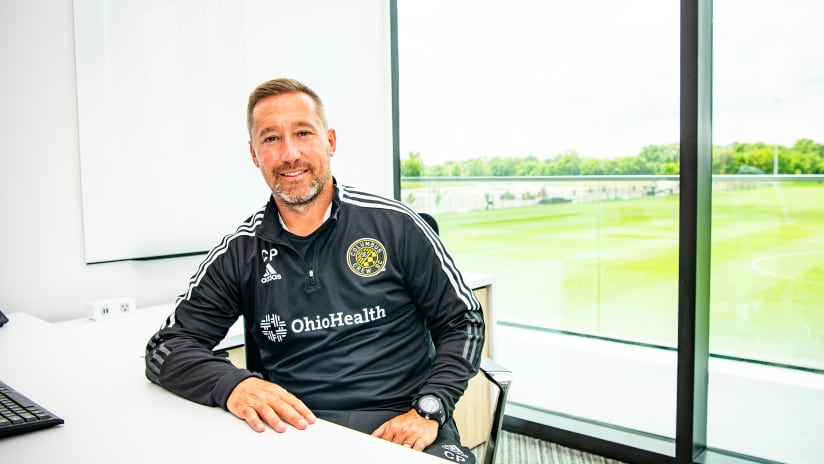 OHPC OPENING | Caleb Porter's first day at the OhioHealth Performance Center