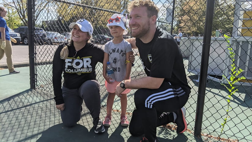 GIVE FORWARD | Ohio Blind Soccer and Columbus Crew hold local event in partnership with Columbus Recreation and Parks