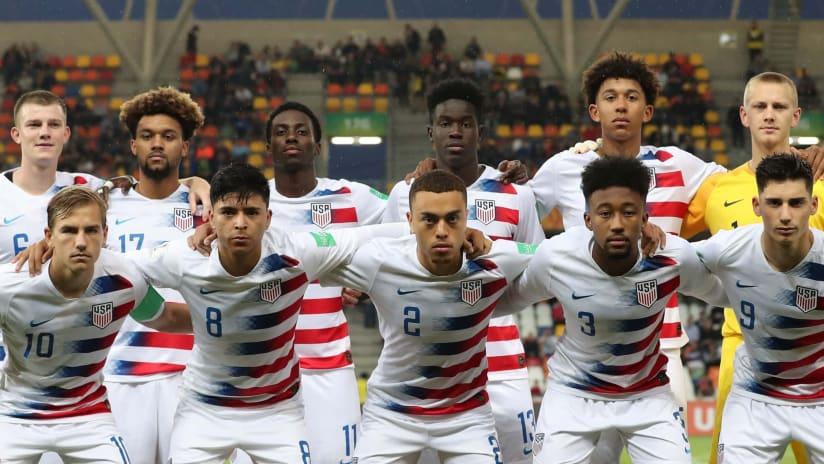 USA U-20 Starting XI - 2019 World Cup