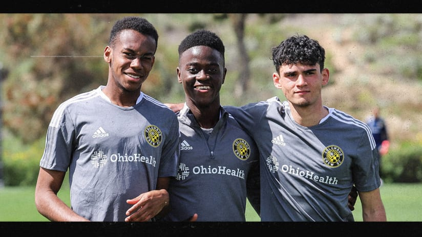 ACADEMY | Six players represent Crew Academy during first stint of preseason camp