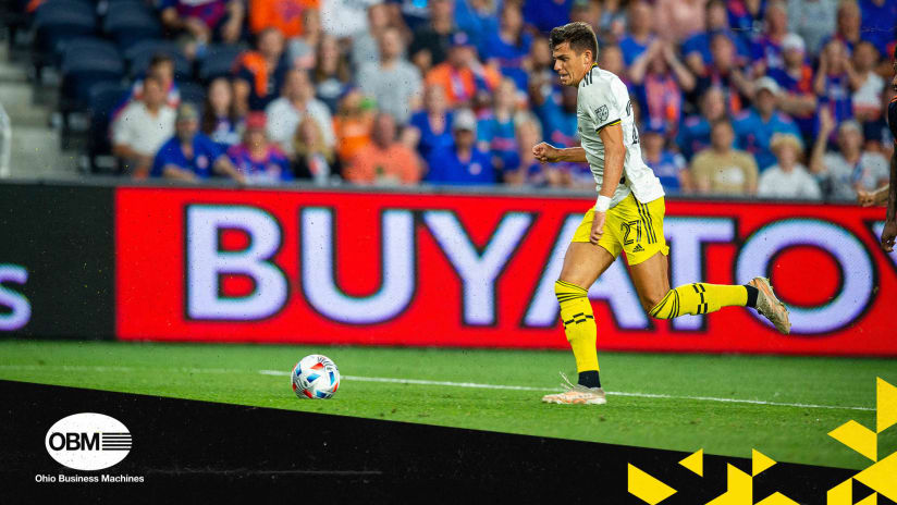 By The Numbers pres. by Ohio Business Machines | Crew still control 'Hell is Real'
