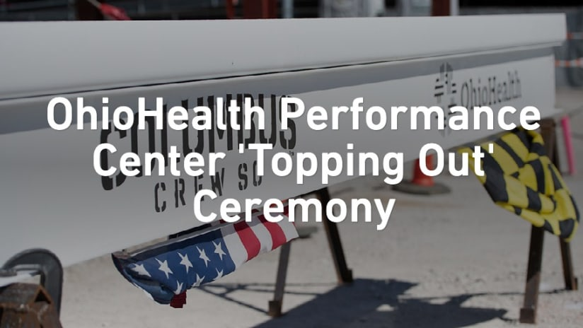 PHOTOS | 'Topping out' ceremony for OhioHealth Performance Center - OhioHealth Performance Center 'Topping Out' Ceremony