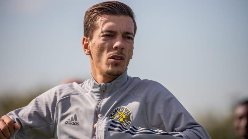 Pedro Santos - Training - Preseason 2020