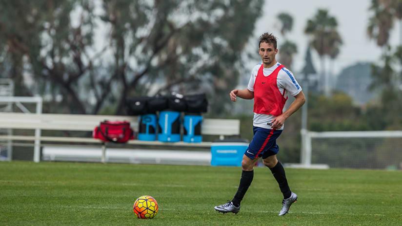 Ethan Finlay USA Training