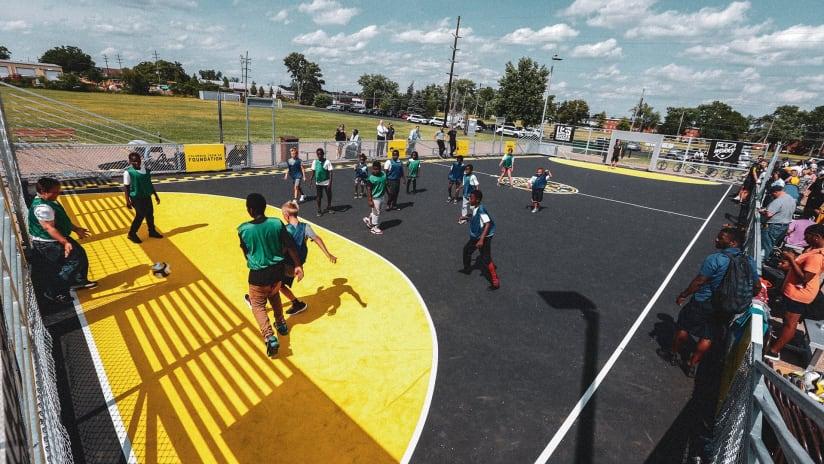 Columbus Crew announces installation of new mini-pitch in Columbus