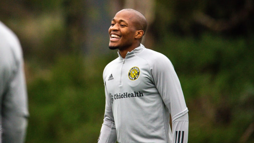 GIVE FORWARD | Nagbe donates clothes, backpacks to Boys & Girls Clubs of Northeast Ohio