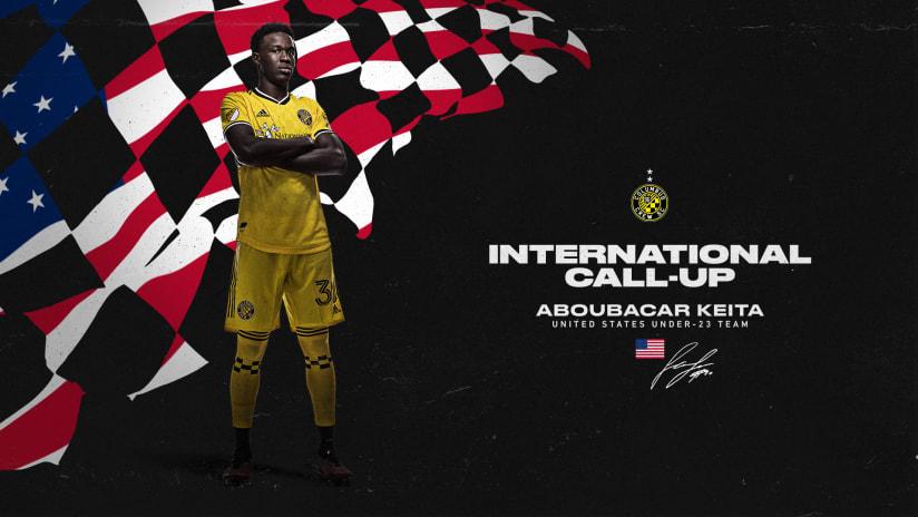 Columbus Crew's Aboubacar Keita receives an international call-up