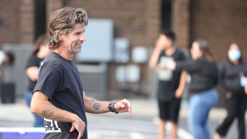 Crew great Kyle Martino co-designed the new pitch