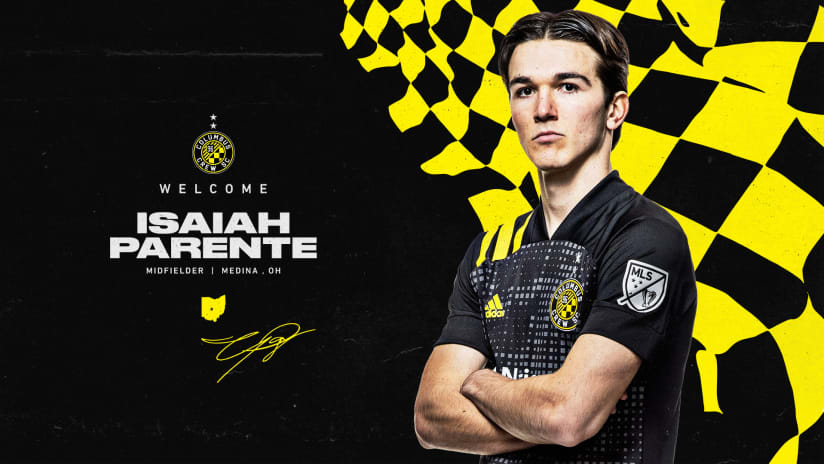 Columbus Crew signs Academy product and midfielder Isaiah Parente
