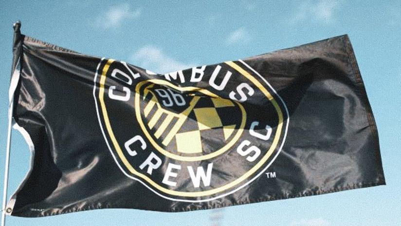 Crew SC flag in wind - v2