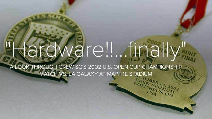 "PHOTOS: A championship performance at MAPFRE Stadium - ""Hardware!!...finally"""