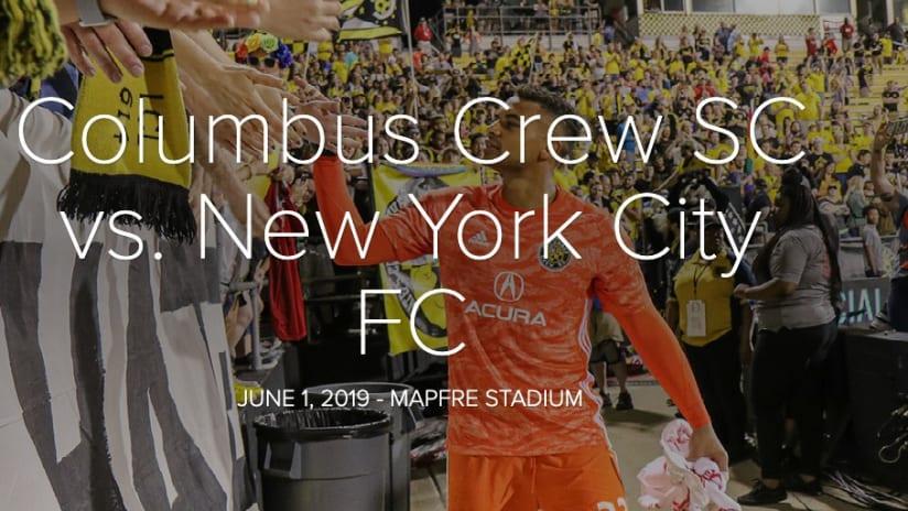 PHOTOS: Views from Steffen's last match - Columbus Crew SC vs. New York City FC