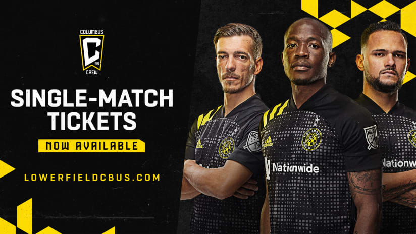 Single-Match Tickets for Lower.com Field are now on sale