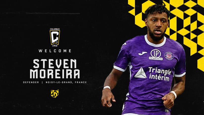 Columbus Crew signs French defender Steven Moreira