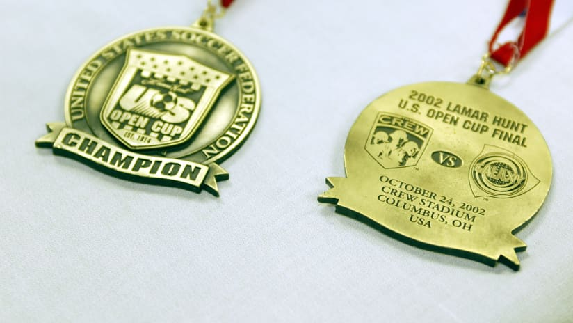 2002 Open Cup Medals