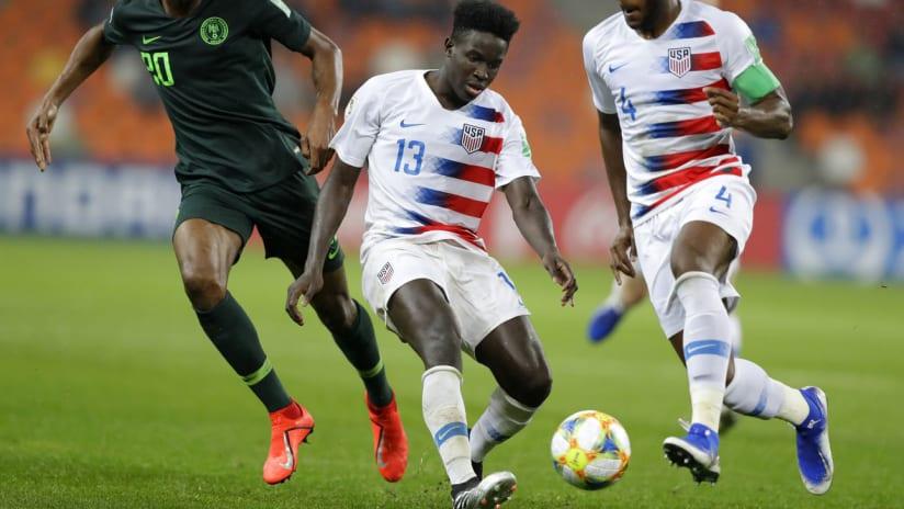 Aboubacar Keita - United States - 2019 FIFA U-20 World Cup - Nigeria