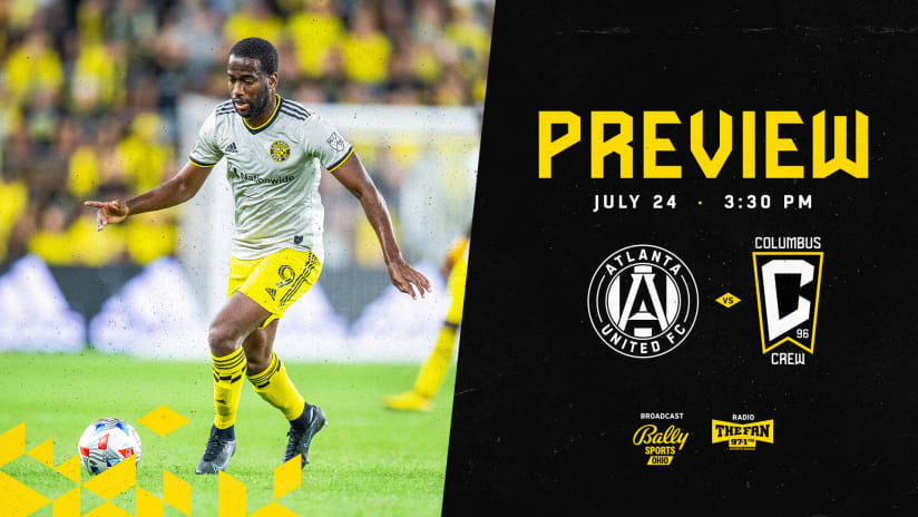 PREVIEW | Crew set to cap off 3-match, 8-day stretch at Atlanta United on Saturday