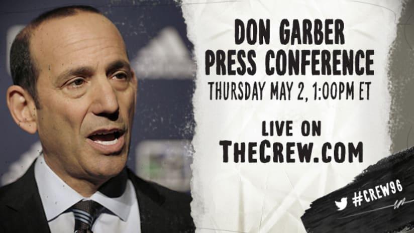 Garber Press Conference