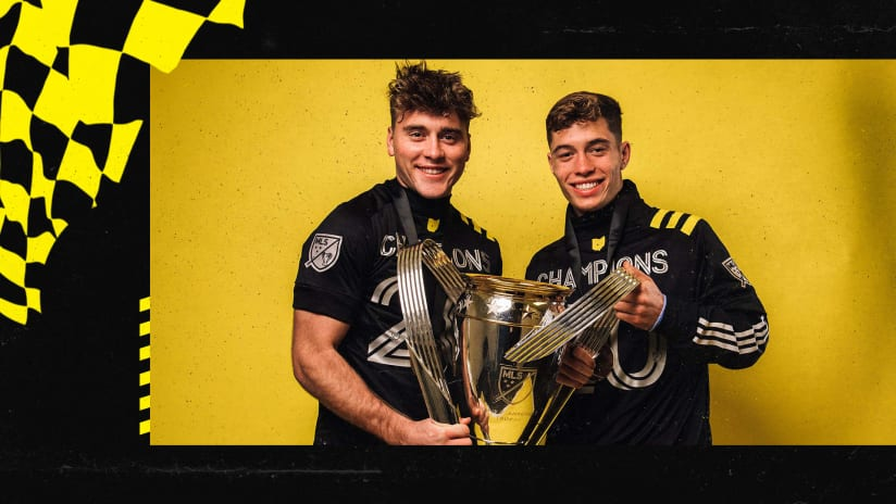 INTERVIEWS | Reflections from Homegrown Players a year after signing with the Crew