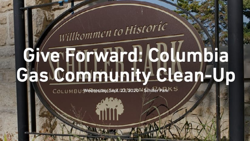 GIVE FORWARD | Clean-up at Schiller Park with Columbia Gas - Give Forward: Columbia Gas Community Clean-Up